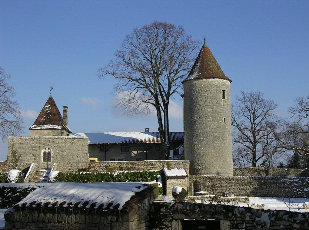 Chateau D Andelot A Andelot Morval En Location Integrale