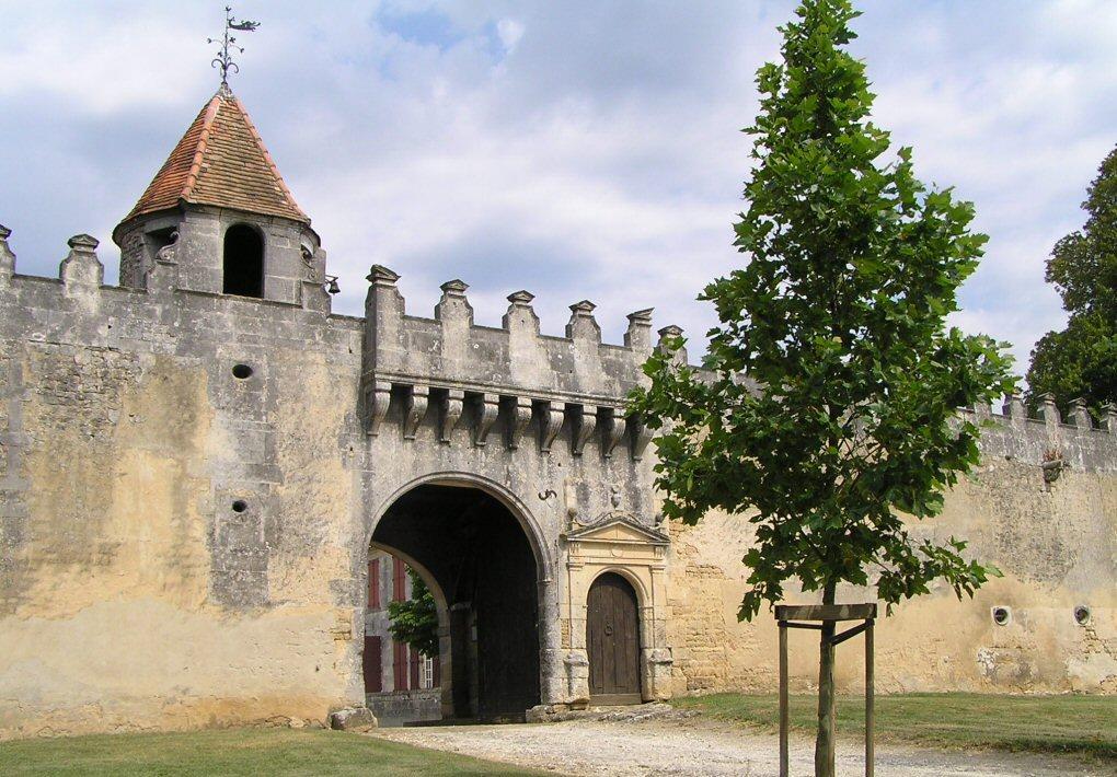 Chateau de garde p e saint brice inscrit imh - Declaration porte fort heritier ...